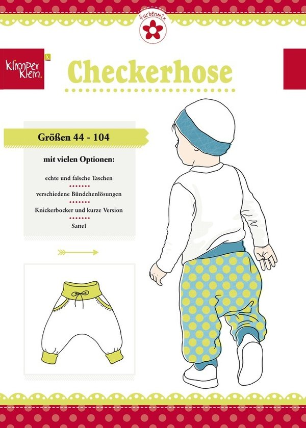 Checkerhose - Baby/Kinder-Pumphose