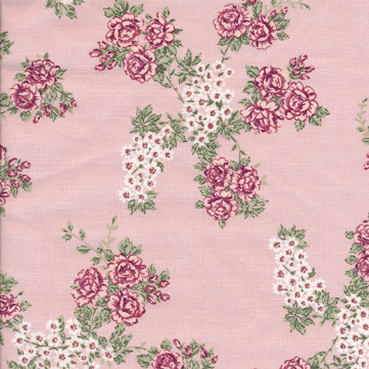 Oilcloth Isabella light rose