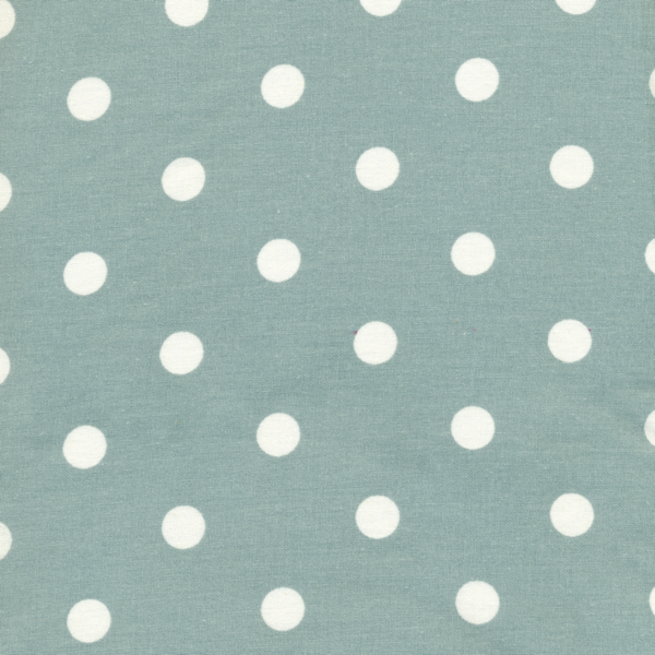 Oilcloth Dots Big Ice green